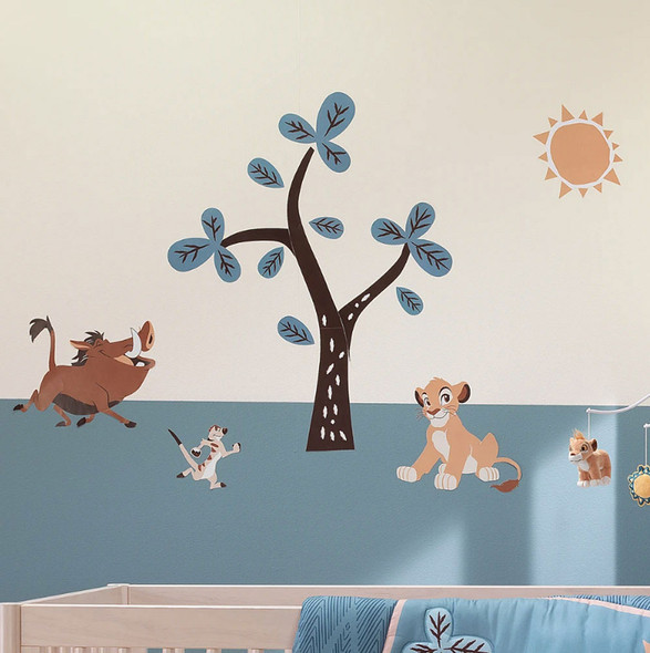 Lambs & Ivy Lion King Adventure Wall Decals