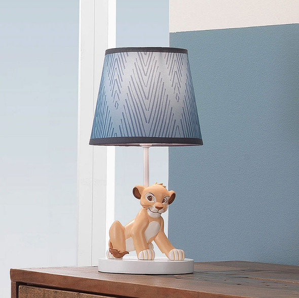 Lambs & Ivy Lion King Adventure Lamp w/Shade & Bulb