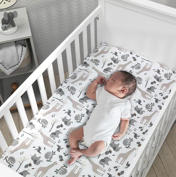 Lambs & Ivy Baby Jungle Sheet
