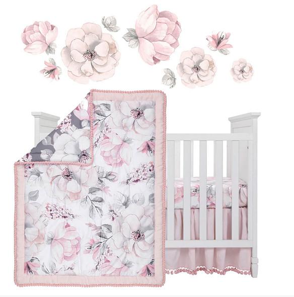 Lambs & Ivy Botanical Baby - Signature 4-Piece Bedding Set
