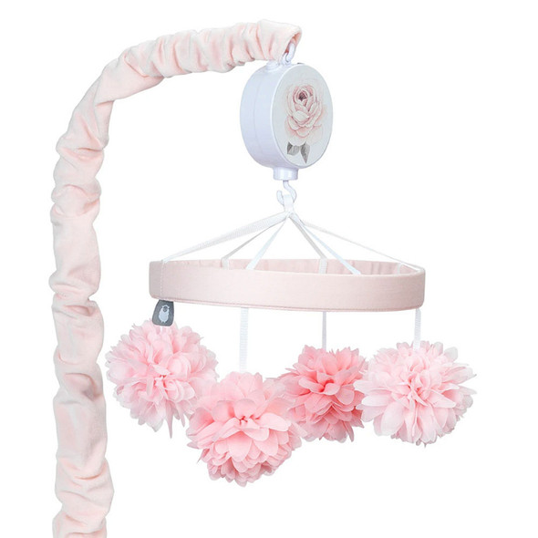Lambs & Ivy Botanical Baby - Signature Musical Mobile - Plays 20 minutes