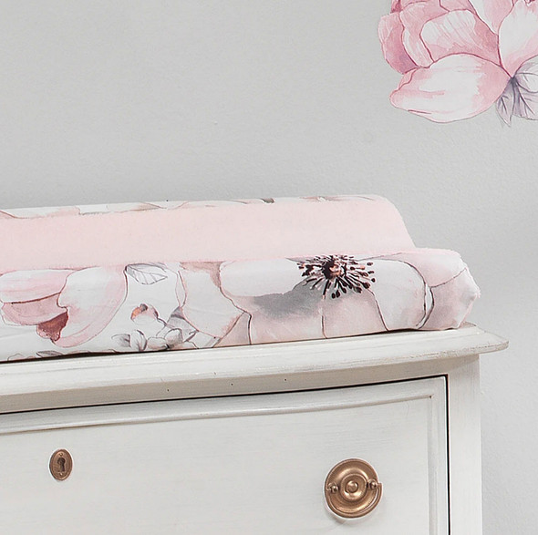 Lambs & Ivy Botanical Baby - Signature Changing Pad Cover