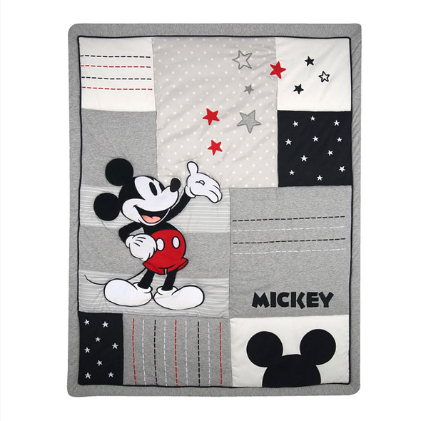 Lambs & Ivy Magical Mickey Mouse 3-Piece Bedding Set