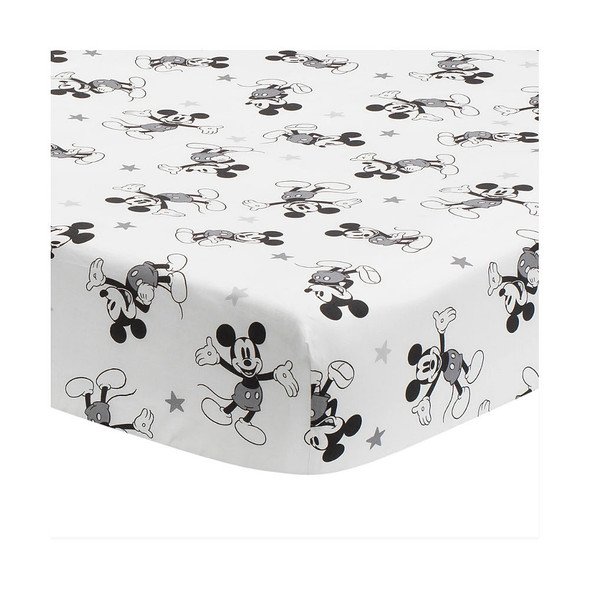 Lambs & Ivy Magical Mickey Mouse Sheet