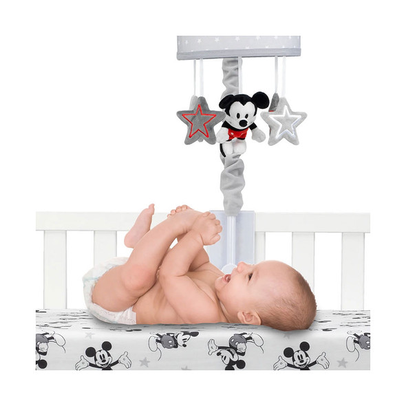 Lambs & Ivy Magical Mickey Mouse Musical Mobile - Plays 20 minutes