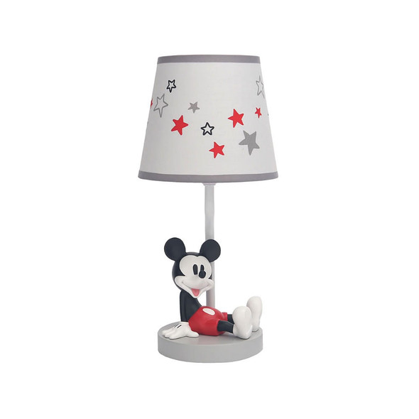 Lambs & Ivy Magical Mickey Mouse Lamp w/Shade & Bulb
