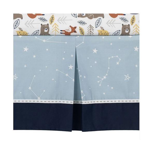 Lambs & Ivy Sierra Sky Crib Skirt