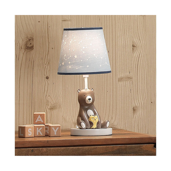 Lambs & Ivy Sierra Sky Lamp w/Shade & Bulb