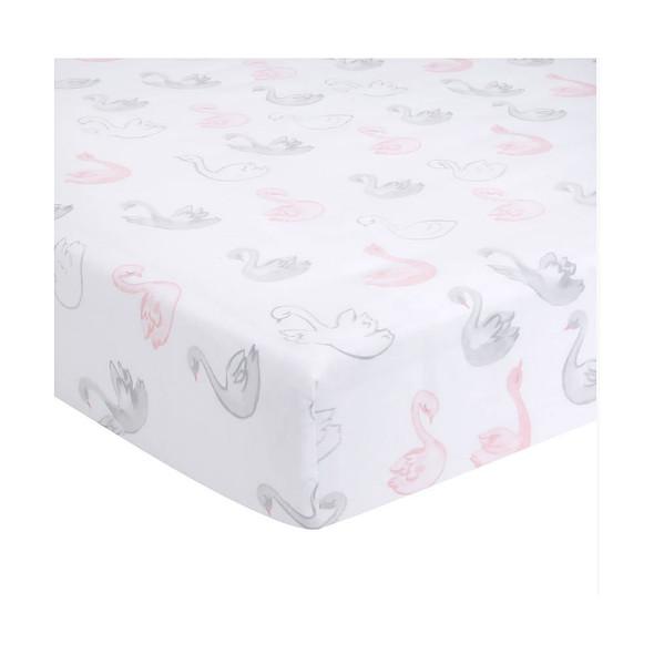 Lambs & Ivy Swan Princess - Signature Sheet - Swan Print