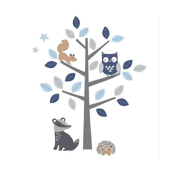 Lambs & Ivy Whimsical Woods Wall Decals