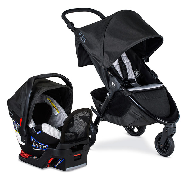 Britax Premium B-Free and Endeavours Travel System