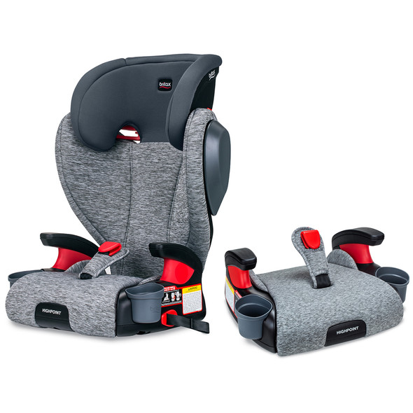 Britax USA Skyline 2-Stage Belt-Positioning Booster Car Seat - Highback and Backless in Asher