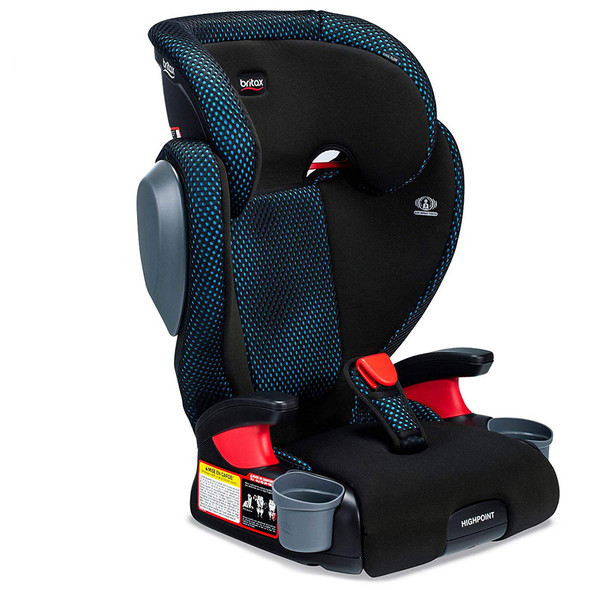 Britax USA Skyline 2-Stage Belt-Positioning Booster Car Seat - Highback and Backless in Cool Flow Teal