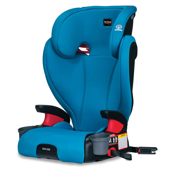 Britax Skyline 2-Stage Belt-Positioning Booster Car Seat in Teal