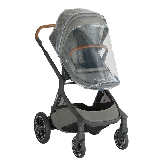 Nuna Demi Grow Stroller (with adapters, raincover & fenders) in Oxford