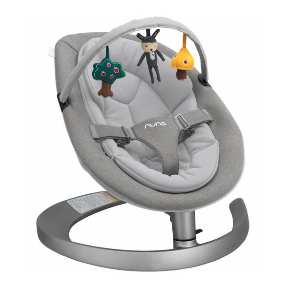 Nuna LEAF Grow Rocker in Oxford - Child Seat Swing