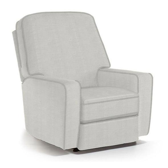 Best Chairs Bilana Swivel Glider Recliner in Sterling
