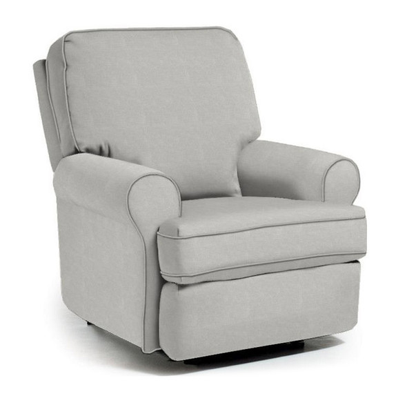 Best Chairs Tryp Swivel Glider Recliner in Grey