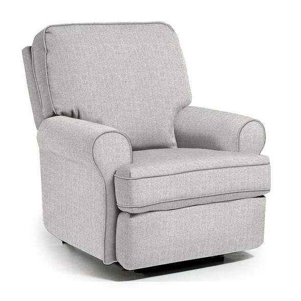 Best Chairs Tryp Swivel Glider Recliner in Performance Dove