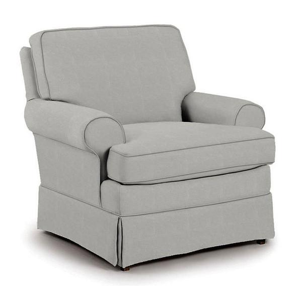 Best Chairs Quinn Swivel Glider in Grey