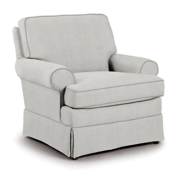 Best Chairs Quinn Swivel Glider in Sterling