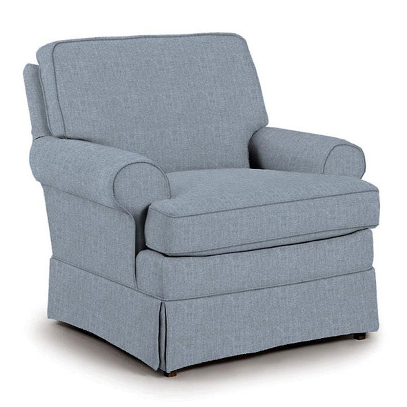 Best Chairs Quinn Swivel Glider in Sky