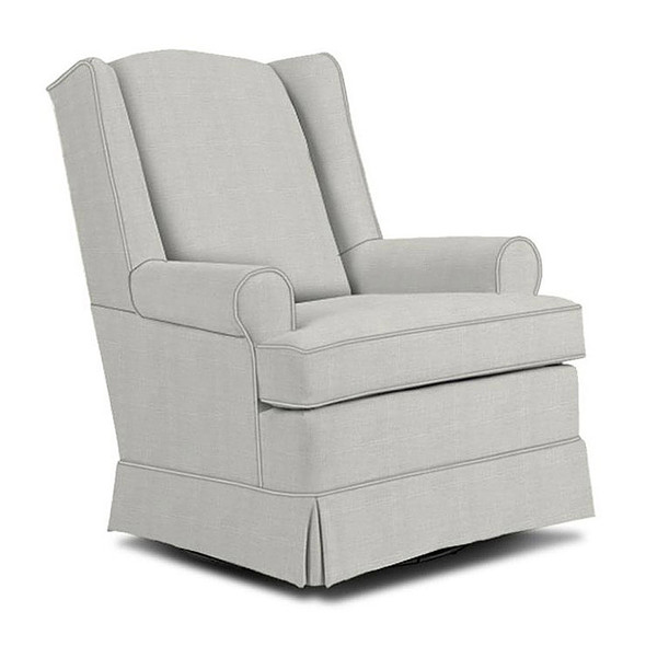 Best Chairs Roni Swivel Glider in Sterling