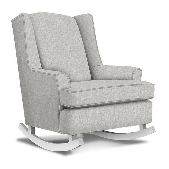Best Chairs Willow Swivel Glider in Dove
