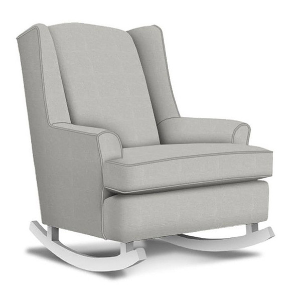 Best Chairs Willow Swivel Glider in Grey