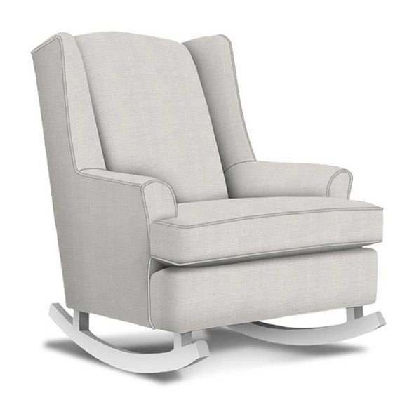Best Chairs Willow Swivel Glider in Sterling
