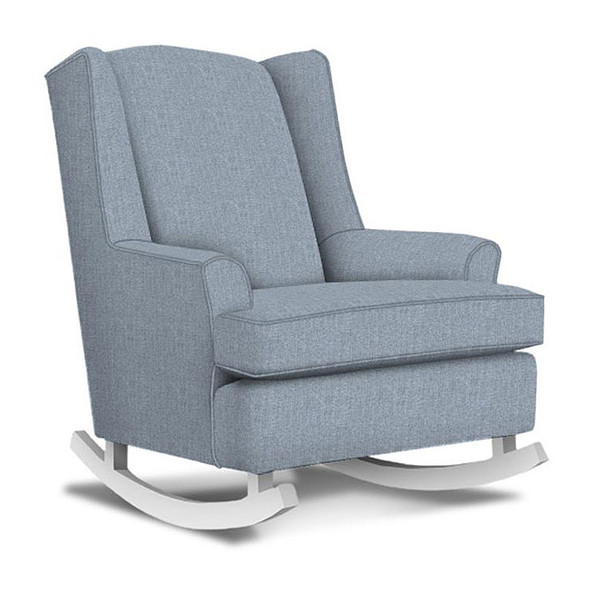 Best Chairs Willow Swivel Glider in Sky