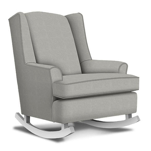 Best Chairs Willow Swivel Glider in Performance Dove