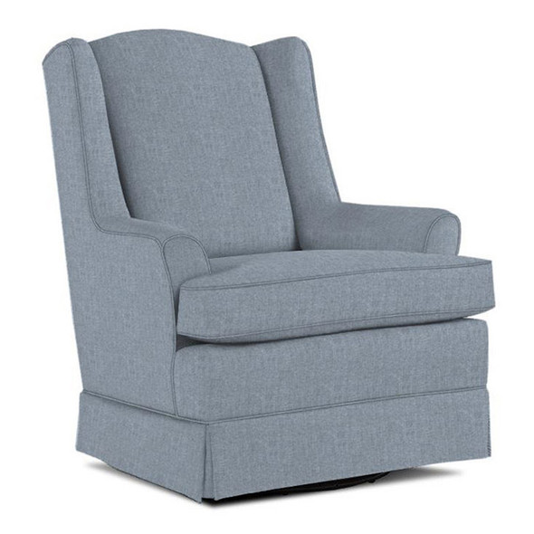 Best Chairs Natasha Swivel Glider in Sky