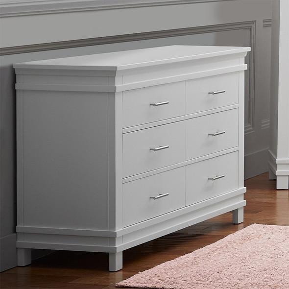 Dolce Babi Bocca Double Dresser in Bright White