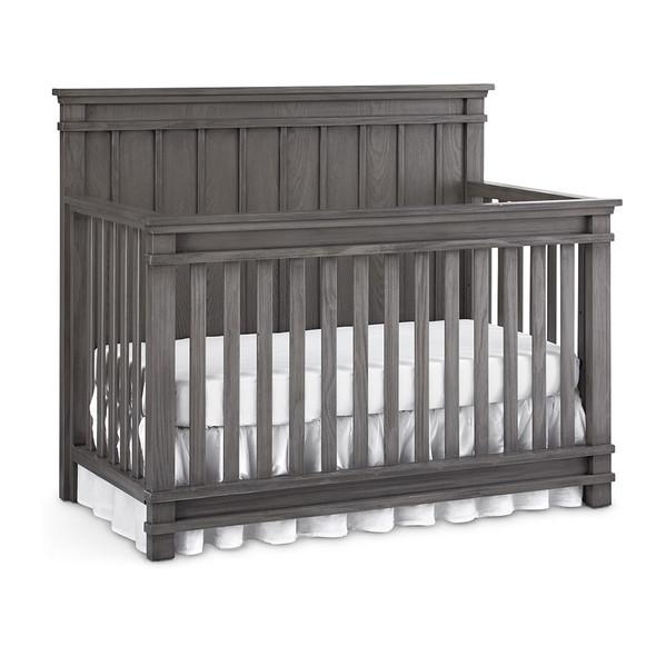 Dolce Babi Bocca Full Panel Convertible Crib in Marina Grey