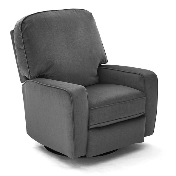 Best Chairs CMIKK Swivel Glide Recliner - Graphite