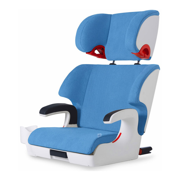 Clek Oobr Booster Seat in Ten Year Blue