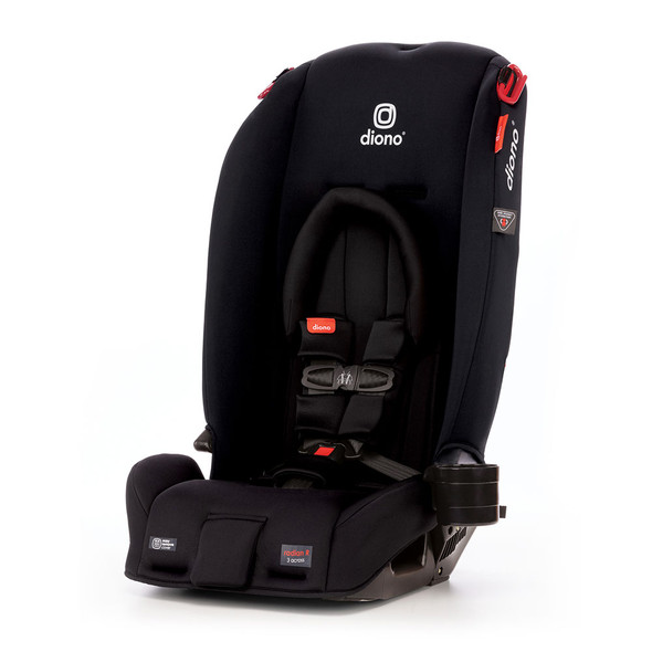 Diono Radian 3RX Latch All in One Convertible Car Seat in Black Jet