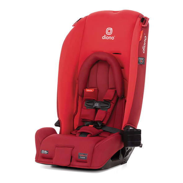 Diono Radian 3RX Latch All in One Convertible Car Seat in Red Cherry