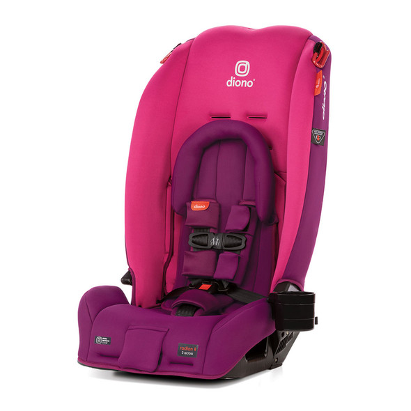 Diono Radian 3RX Latch All in One Convertible Car Seat in Pink Blossom
