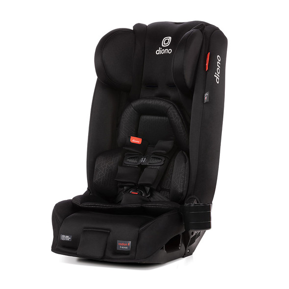 Diono Radian 3RXT Latch All in One Convertible Car Seat in Black Jet
