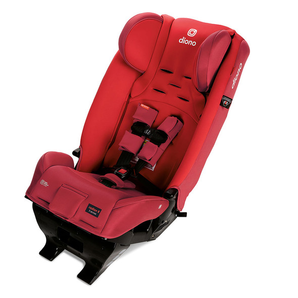 Diono Radian 3RXT Latch All in One Convertible Car Seat in Red Cherry