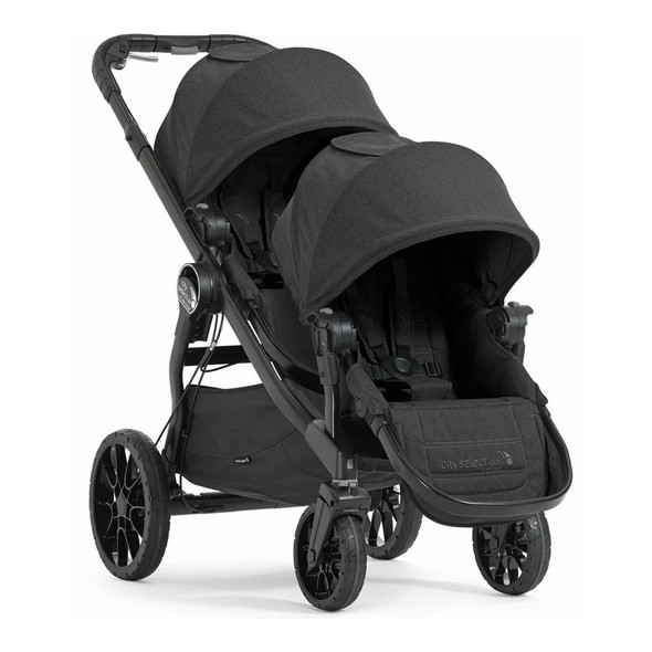 Baby Jogger City Select Lux and Second Seat in Granite
