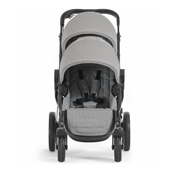 Baby Jogger City Select Lux and Second Seat in Slate