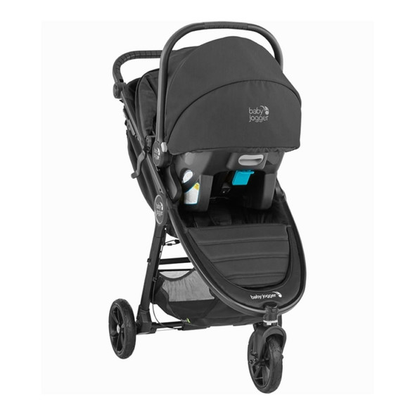 Baby Jogger City Mini GT2 Travel System in Slate