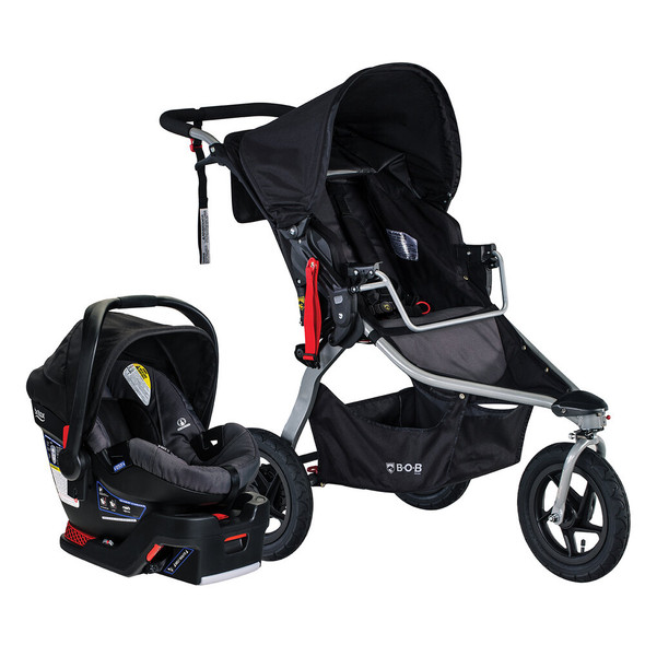 BOB 2020 Rambler Travel System in Black