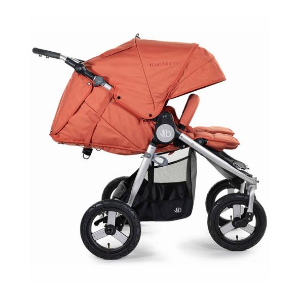 Bumbleride 2020 Indie Twin Stroller in Clay