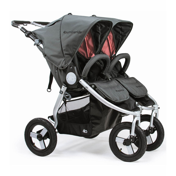 Bumbleride 2020 Indie Twin Stroller in Dawn Grey