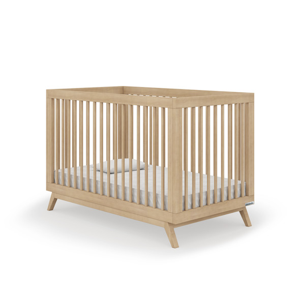 Dadada Soho Collection 2 in 1 Baby Crib in Natural