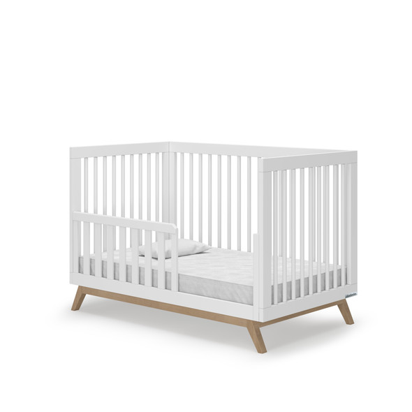 Dadada Soho Collection Toddler Bed Rail in White